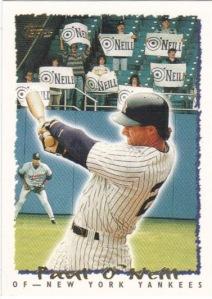 O'Neill, Paul 1995 Topps #426 (8)